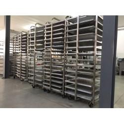 Carucioare 600x800 mm pentru cuptoare ROTATIVE