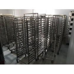 Carucioare patiserie/panificatie 600x400 mm